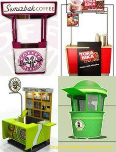 booths Source by Food Stall Design, Food Design, Cafe Signage, Coffee Shop Interior Design, Food Kiosk, Kiosk Design, Diy Bed Frame, Restaurant Design, My Coffee