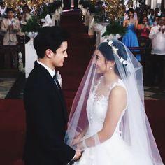 """so happy #JaDine"" James Reid, Nadine Lustre, Magical Wedding, Partners In Crime, Filipina, Marriage, Celebs, Couples, Wedding Dresses"