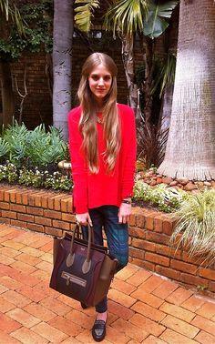 Celine Bag, Zara Shoes