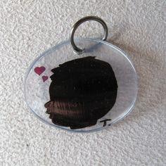 Tuto médaillon ombre chinoise en plastique fou de récup DIY make your own shrinky dinks