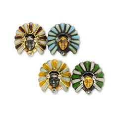A Pair of Enamel, Diamond and Gold Cufflinks . . . . . der Blog für den Gentleman - www.thegentlemanclub.de/blog