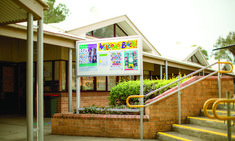 Staff at James Erskine School recognised that there was a lack of convenient devices in place to disseminate messages to staff, students and visitors, in a secure and protected platform.  CIVIQ were called on to assist, due to the company's range of Australian-made premium notice and poster display boards, engineered to withstand the demanding environment of the school atmosphere.