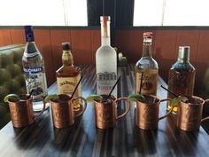 Join Spanky's Urban Roadhouse for happy hour daily from 3-6pm. Relax with an All-American Mule made with Tito's Vodka or any of our five Craft Mules!