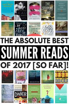 Looking for the best beach reads of 2017 to add to your summer reading list? We've got 20 page-turning recommendations that will keep you up WAY past your bedtime!!