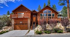 Big Bear Cabin #39 Gold Rush Resort 4Bed/3 Bath Great for Families! To Book call (310) 800-5454 or click the image! #BigBear #vacation #5starvacation #welcome #cabin #bluesky