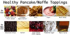 healthy Pancake/Waffle Toppings