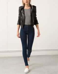 Cute, casual style ~ I like everything about this outfit . Pretty Outfits, Fall Outfits, Casual Outfits, Cute Outfits, Look Fashion, Fashion Outfits, Womens Fashion, Look Jean, Look Blazer