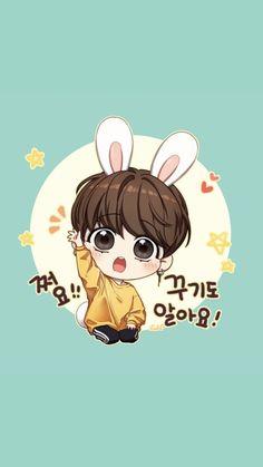 Jungkook Fanart, Kpop Fanart, Bts Chibi, Anime Chibi, Bts Cute, Jungkook Cute, Jimin, Dibujos Cute, Fanarts Anime