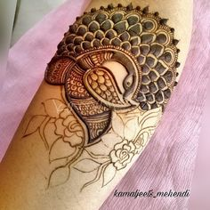 Beautiful Leg mehndi designs (Trending and funky) - SetMyWed