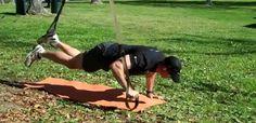 Advanced TRX Total Body Workout Trx Suspension Trainer, Suspension Training, Trx Home Gym, Trx Yoga, Trx Training, Strength Training, Piriformis Muscle, Pilates Reformer, Pilates Studio