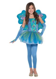 Peacock Style Princess Costume - Animal Costumes - New for 2016