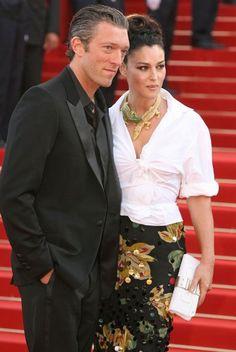 Cannes 2003.  Monica Belluci et Vincent Cassel