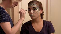 MERMAID Halloween Makeup Tutorial - easy how to! #mermaid #makeup #howto #DIY #MUA #halloween
