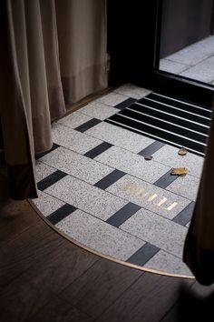 floor patterns kroniki Fedde bistro Gdynia on Behance Floor Patterns, Tile Patterns, Cafe Design, Store Design, Floor Texture, Restaurant Interior Design, Restaurant Interiors, Floor Finishes, Hospitality Design
