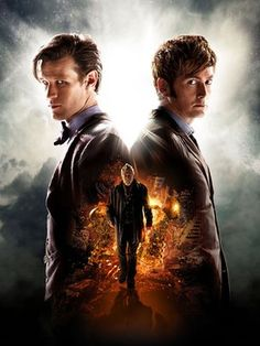 Matt Smith, David Tennant and John Hurt...this is going to be epic and, knowing Moffat, gut wrenching.