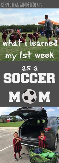 I've been a soccer m