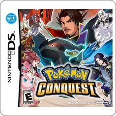 DS Pokemon Conquest R$129.90