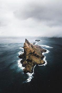 Her name is moon. — banshy:  Faroe Islands by Benjamin Hardman