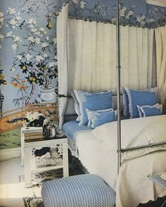 Timeless Blue and White