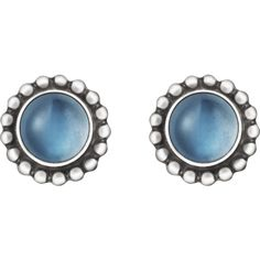 Georg Jensen MOONLIGHT BLOSSOM earrings - sterling silver with... ($325) ❤ liked on Polyvore featuring jewelry, earrings, sterling silver flower jewelry, georg jensen jewelry, sterling silver flower earrings, moonstone jewelry and blossom jewelry