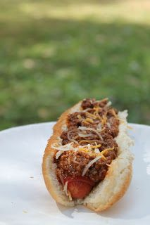 Awesome Homemade Hot Dog Chili.  So good!  Forget the canned stuff!  This is easy :)