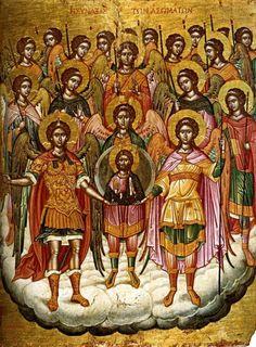 Synaxis of the Archangel Gabriel / Собор Архангела Гавриила (Mar 26/Apr 8)