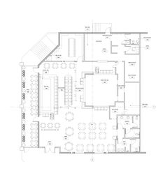 Restaurant Furniture Plan