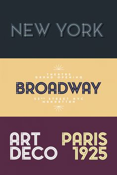 The Pontiac Inline font family from foundry La Goupil Paris.
