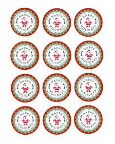Christmas Printables - Creative Cain Cabin Christmas Lights Garland, Christmas Ornaments To Make, Handmade Christmas Gifts, Miniature Christmas, Christmas Gifts For Kids, Christmas Themes, Christmas Crafts, Christmas Gift Tags Printable, Christmas Labels
