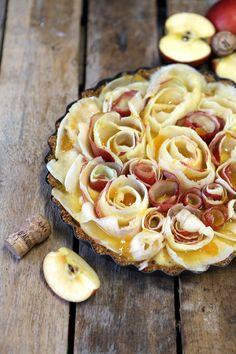 Pähkinäinen omenapiiras (gluteeniton)