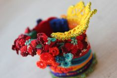 Heliamphora Pulchella ... Freeform Crochet by irregularexpressions, $168.00