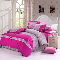 Find More Bedding Sets Information about Korean princess bedding sets king size bed clothes 4pcs bed cover bed linen comforter bed sheet set floral duvet cover set,High Quality Bedding Sets from Dreamy home on Aliexpress.com