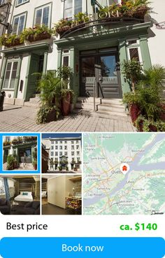 Hotel Le Priori (Quebec City, Canada) – Book this hotel at the cheapest price on sefibo.