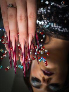 Nail Techniques, 21st, Bangles, Photoshoot, Nails, Beauty, Jewelry, Bracelets, Finger Nails
