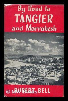 Vintage French Travel Poster Tangier 1930s Morocco Bab el Fahs Maroc Print Deco