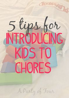 We all hate chores but children especially need a little extra push. Here are 5 tips for introducing your kids to chores! Parenting Advice, Kids And Parenting, Learning Activities, Activities For Kids, Chores For Kids, Raising Kids, Healthy Kids, Life Skills, How To Introduce Yourself