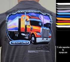 Coronado 11 color separation by myseps for Freightliner.