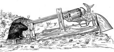Seriously, someone filed for a patent on this 50 caliber mouse trap. From the US Patent Office.