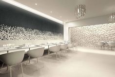 Awesome wall application! sweet cove lighting