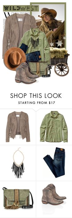 """""""Wild West Style"""" by lenochca ❤ liked on Polyvore featuring W118 by Walter Baker, Patagonia, Akira, American Eagle Outfitters, L'Autre Chose, Liberty Black and wildwest"""