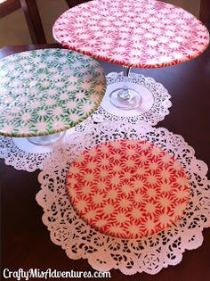 Reduce, Reuse, Renewed: Peppermint Candy Crafts