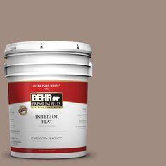 BEHR Premium Plus 5-gal. #770B-5 Country Club Zero VOC Flat Interior Paint