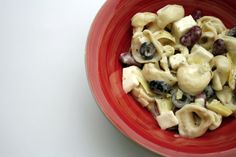 Tortellini Salad — Now that football season is in full swing, you will likely find less Weight Watcher-friendly recipes on this website. That is not to say I'm quitting the program. I am still on Weight Watchers and probably will be for life! However, one secret to my success on Weight Watchers both this time and the first