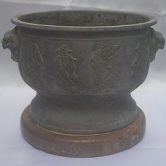 Antique Vintage Chinese Portable Charcoal Brazier by MoreJapan