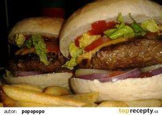Cheeseburger recept - TopRecepty.cz