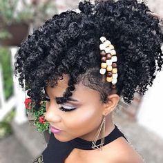 48 Best Black Curly Ponytail Images Natural Hair Natural Hair