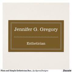 Minimalist and plain paralegal business card pinterest paralegal plain and simple esthetician business card colourmoves