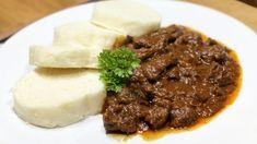 Pripravili sme pre teba super recept na maďarský guláš. Každý recept obsahuje foto postup, video návod, nutričné hodnoty, ingrediencie a kopec interaktívnych funkcií, ktoré ti asistujú pri kuchtení. Dobrú chuť : ) Mashed Potatoes, Beef, Ethnic Recipes, Food, Red Peppers, Whipped Potatoes, Meat, Smash Potatoes, Meals