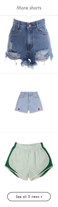 """More shorts"" by samtiritilli ❤ liked on Polyvore featuring shorts, bottoms, acid wash shorts, high waisted ripped shorts, high rise shorts, cut-off shorts, high-rise shorts, clothing - shorts, pants and high waisted denim shorts"
