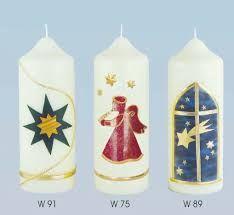 Bildergebnis für verzierte Weihnachtskerzen Pillar Candles, Painting, Candles, Wax, Salt, Creative Ideas, Make Your Own, Christmas, Deco